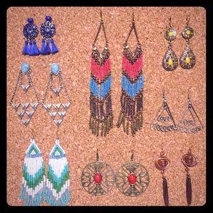 Assortment of Earrings